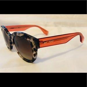 New Fendi 0026/S Gray Tortoise Sunglasses